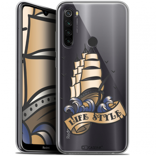 "Carcasa Gel Extra Fina Xiaomi Redmi Note 8T (6.3"") Tatoo Lover Fashion"