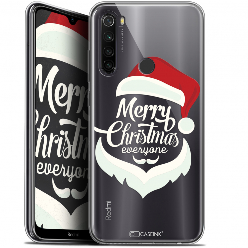 "Carcasa Gel Extra Fina Xiaomi Redmi Note 8T (6.3"") Noël 2017 Merry Everyone"