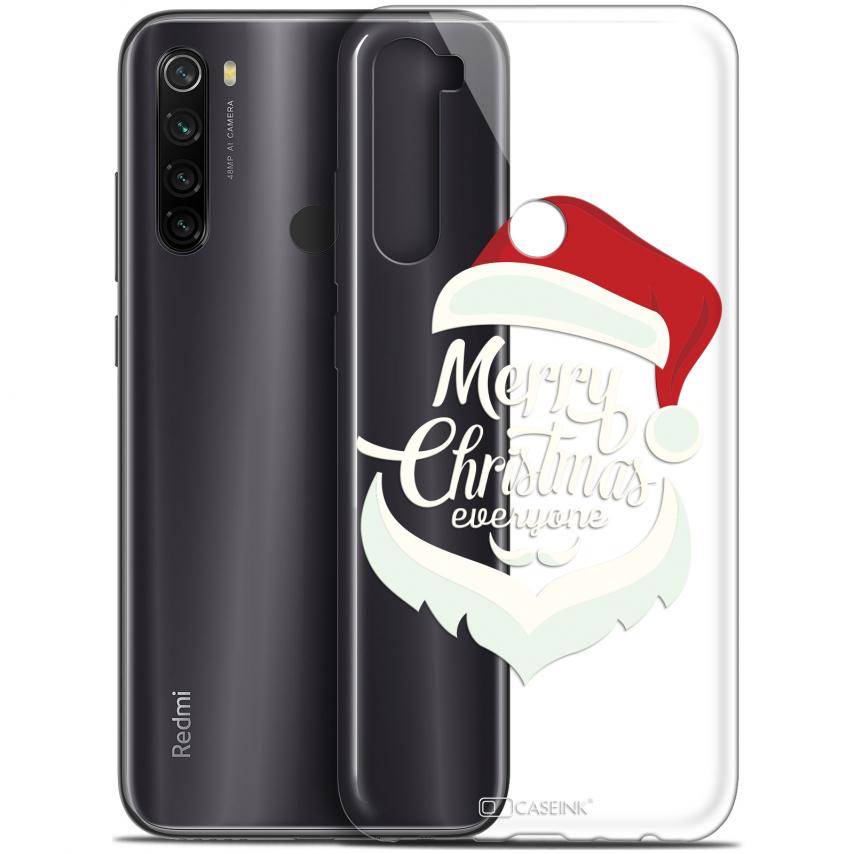 """Carcasa Gel Extra Fina Xiaomi Redmi Note 8T (6.3"""") Noël 2017 Merry Everyone"""