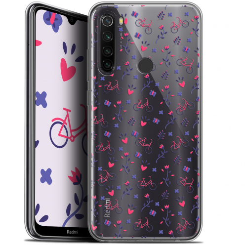 "Carcasa Gel Extra Fina Xiaomi Redmi Note 8T (6.3"") Love Bicycle"
