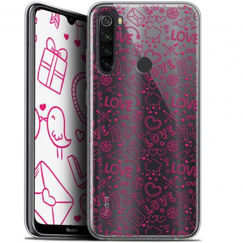 "Carcasa Gel Extra Fina Xiaomi Redmi Note 8T (6.3"") Love Doodle"