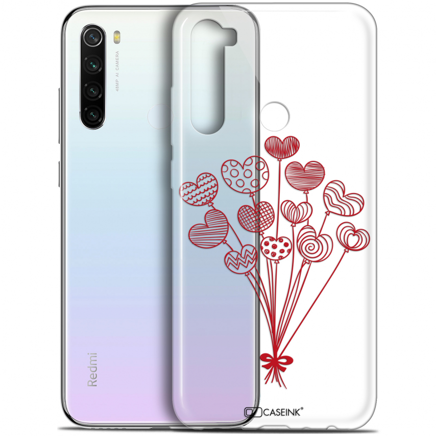 "Carcasa Gel Extra Fina Xiaomi Redmi Note 8T (6.3"") Love Ballons d'amour"