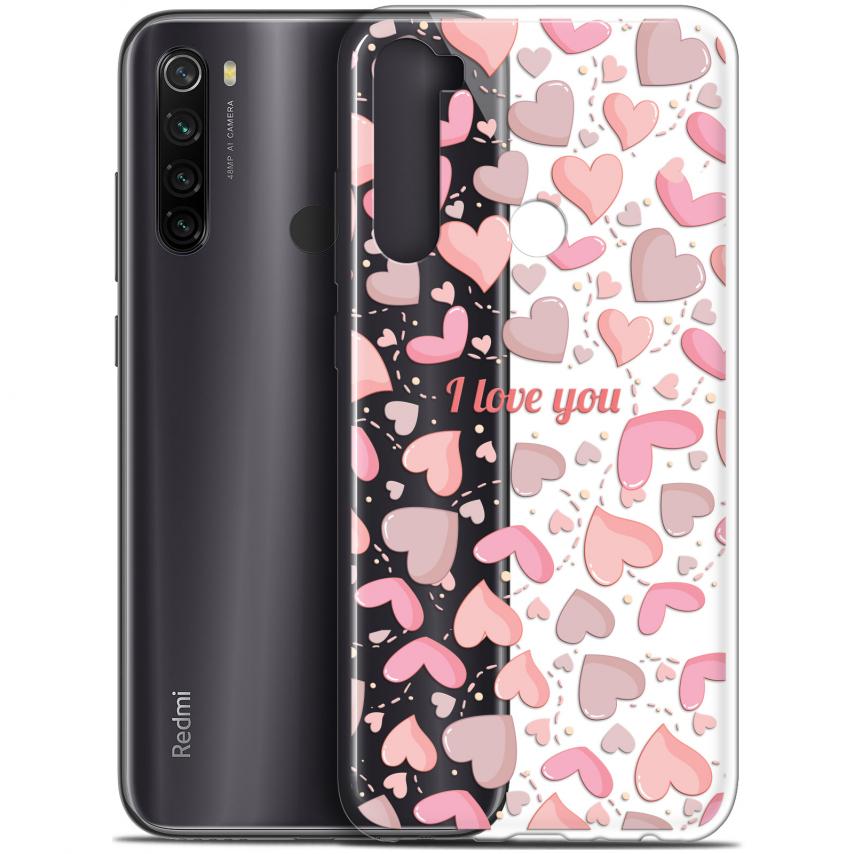 """Carcasa Gel Extra Fina Xiaomi Redmi Note 8T (6.3"""") Love I Love You"""