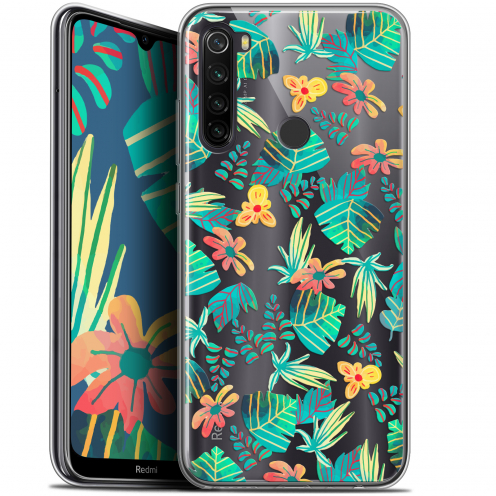 "Carcasa Gel Extra Fina Xiaomi Redmi Note 8T (6.3"") Spring Tropical"