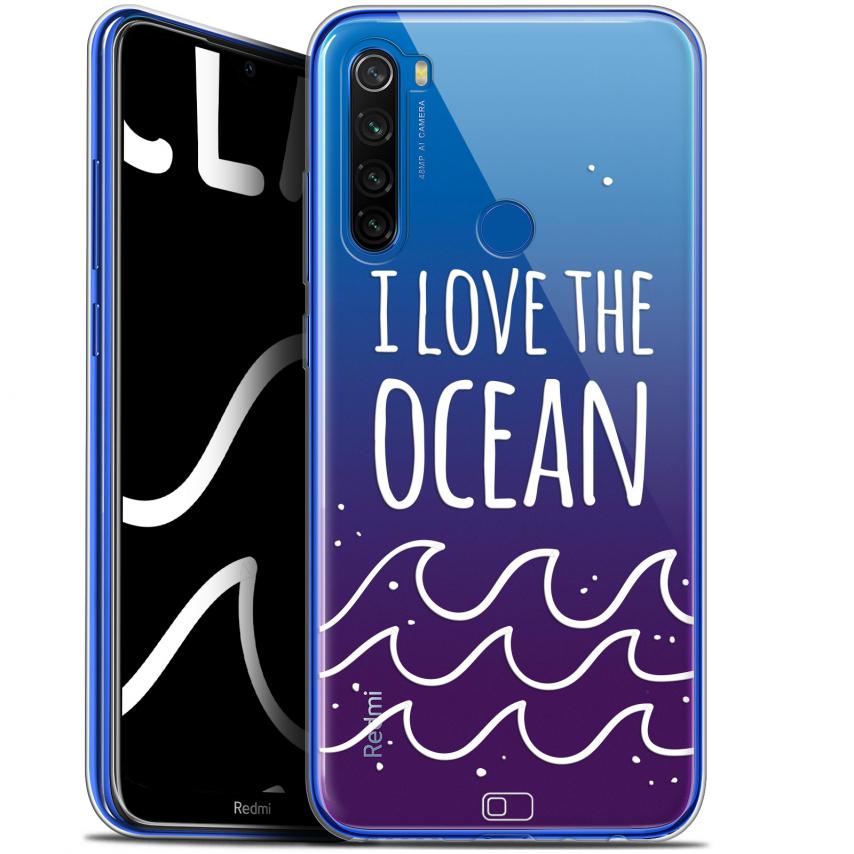 "Carcasa Gel Extra Fina Xiaomi Redmi Note 8T (6.3"") Summer I Love Ocean"