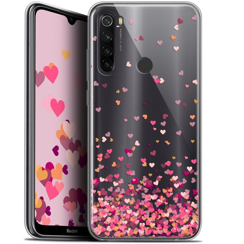 "Carcasa Gel Extra Fina Xiaomi Redmi Note 8T (6.3"") Sweetie Heart Flakes"
