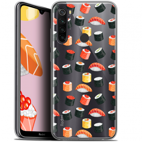 "Carcasa Gel Extra Fina Xiaomi Redmi Note 8T (6.3"") Foodie Sushi"