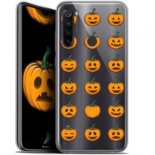"Carcasa Gel Extra Fina Xiaomi Redmi Note 8T (6.3"") Halloween Smiley Citrouille"
