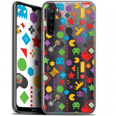 "Carcasa Gel Extra Fina Xiaomi Redmi Note 8T (6.3"") Design PacMan"