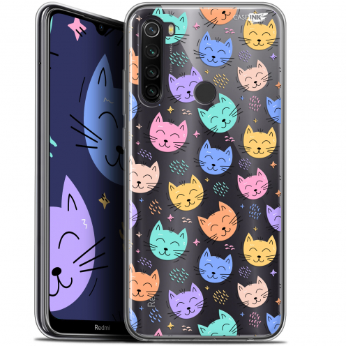 "Carcasa Gel Extra Fina Xiaomi Redmi Note 8T (6.3"") Design Chat Dormant"