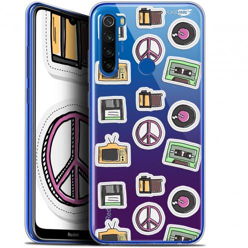 "Carcasa Gel Extra Fina Xiaomi Redmi Note 8T (6.3"") Design Vintage Stickers"