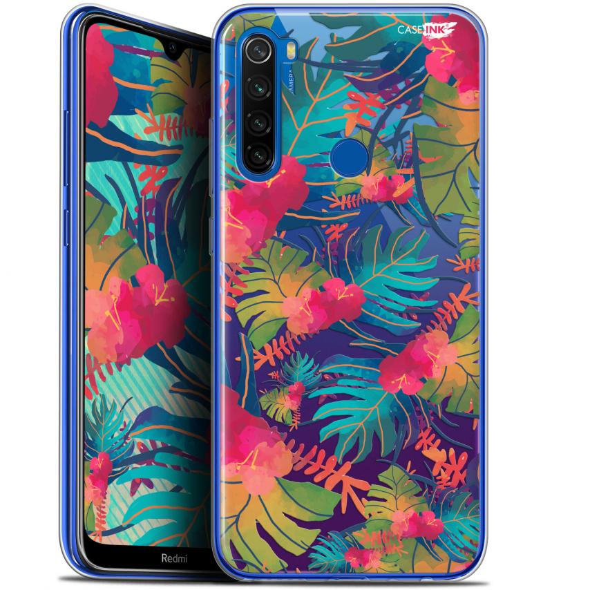 """Carcasa Gel Extra Fina Xiaomi Redmi Note 8T (6.3"""") Design Couleurs des Tropiques"""