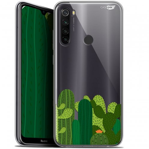 "Carcasa Gel Extra Fina Xiaomi Redmi Note 8T (6.3"") Design Cactus"