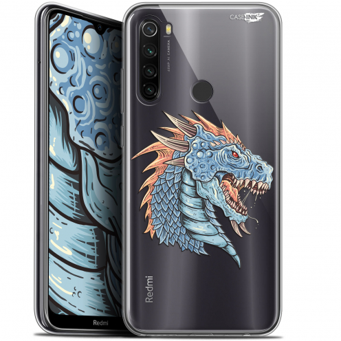 "Carcasa Gel Extra Fina Xiaomi Redmi Note 8T (6.3"") Design Dragon Draw"
