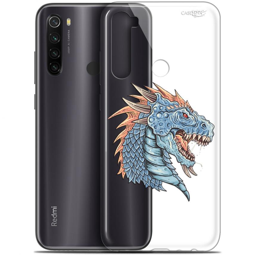 "Carcasa Gel Extra Fina Xiaomi Redmi Note 8T (6.3"") Design Dragon Draw"