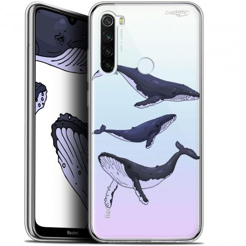 "Carcasa Gel Extra Fina Xiaomi Redmi Note 8T (6.3"") Design Les 3 Baleines"