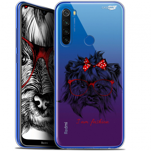 "Carcasa Gel Extra Fina Xiaomi Redmi Note 8T (6.3"") Design Fashion Dog"