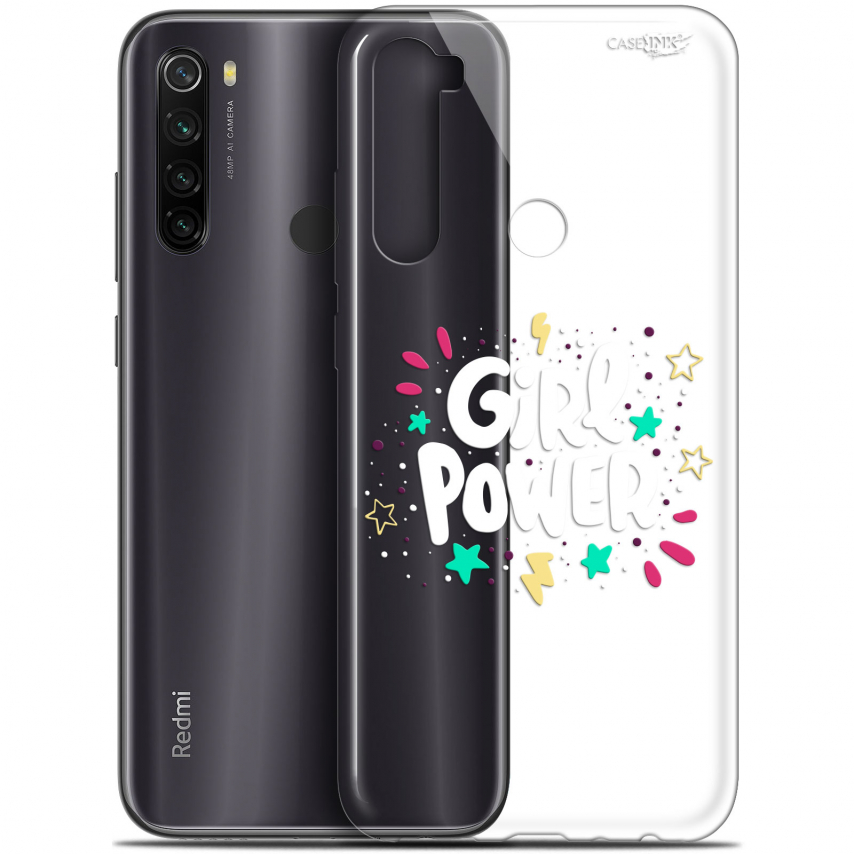 "Carcasa Gel Extra Fina Xiaomi Redmi Note 8T (6.3"") Design Girl Power"