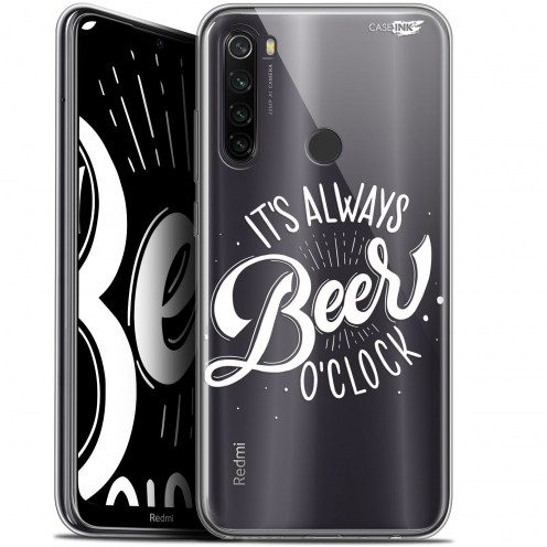 "Carcasa Gel Extra Fina Xiaomi Redmi Note 8T (6.3"") Design Its Beer O'Clock"