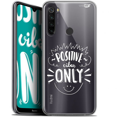 "Carcasa Gel Extra Fina Xiaomi Redmi Note 8T (6.3"") Design Positive Vibes Only"