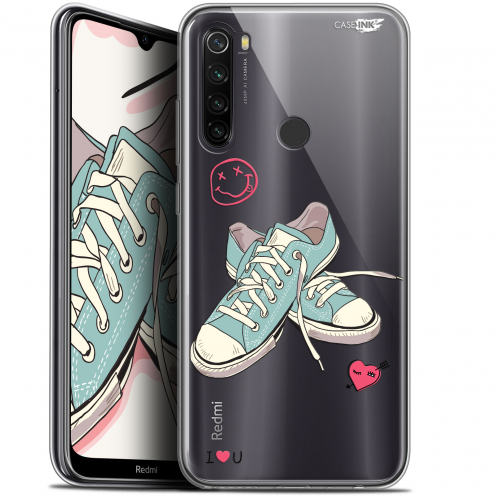"Carcasa Gel Extra Fina Xiaomi Redmi Note 8T (6.3"") Design Mes Sneakers d'Amour"