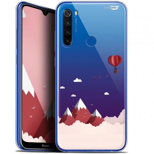 "Carcasa Gel Extra Fina Xiaomi Redmi Note 8T (6.3"") Design Montagne En Montgolfière"