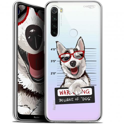 "Carcasa Gel Extra Fina Xiaomi Redmi Note 8T (6.3"") Design Beware The Husky Dog"