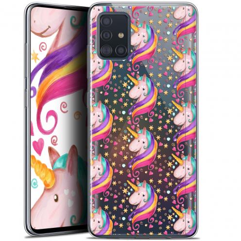 "Carcasa Gel Extra Fina Samsung Galaxy A51 (A515) (6.5"") Fantasia Licorne Etoilée"