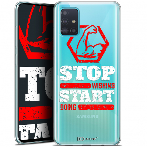 "Carcasa Gel Extra Fina Samsung Galaxy A51 (A515) (6.5"") Quote Start Doing"
