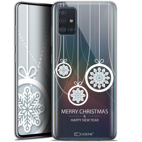 "Carcasa Gel Extra Fina Samsung Galaxy A51 (A515) (6.5"") Noël 2017 Christmas Balls"
