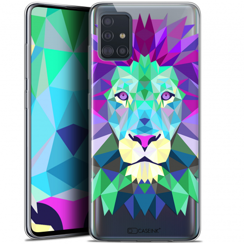 "Carcasa Gel Extra Fina Samsung Galaxy A51 (A515) (6.5"") Polygon Animals León"