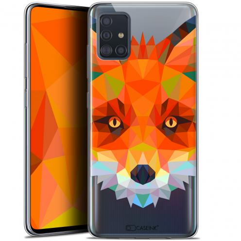 """Carcasa Gel Extra Fina Samsung Galaxy A51 (A515) (6.5"""") Polygon Animals Zorro"""