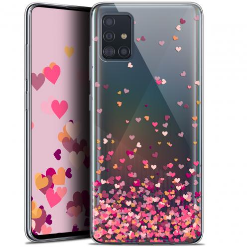 "Carcasa Gel Extra Fina Samsung Galaxy A51 (A515) (6.5"") Sweetie Heart Flakes"