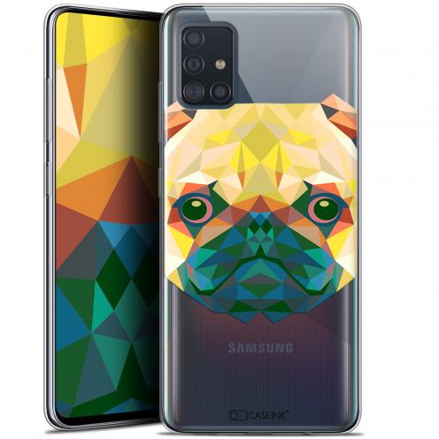 """Carcasa Gel Extra Fina Samsung Galaxy A51 (A515) (6.5"""") Polygon Animals Perro"""