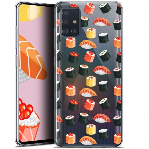 """Carcasa Gel Extra Fina Samsung Galaxy A51 (A515) (6.5"""") Foodie Sushi"""