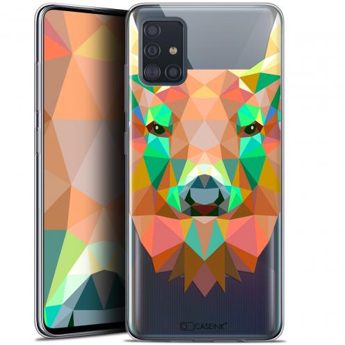 """Carcasa Gel Extra Fina Samsung Galaxy A51 (A515) (6.5"""") Polygon Animals Ciervo"""