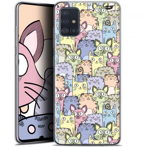 "Carcasa Gel Extra Fina Samsung Galaxy A51 (A515) (6.5"") Design Foule de Chats"