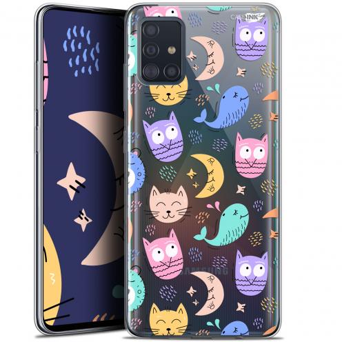 "Carcasa Gel Extra Fina Samsung Galaxy A51 (A515) (6.5"") Design Chat Hibou"
