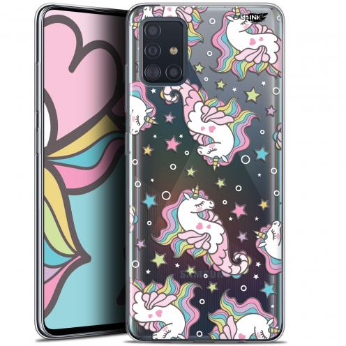 "Carcasa Gel Extra Fina Samsung Galaxy A51 (A515) (6.5"") Design Licorne Dormante"
