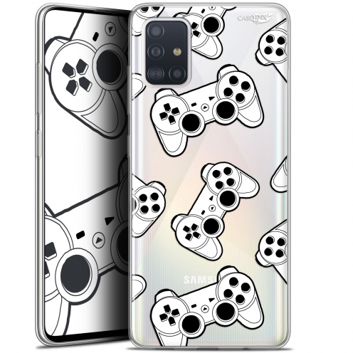 "Carcasa Gel Extra Fina Samsung Galaxy A51 (A515) (6.5"") Design Game Play Joysticks"