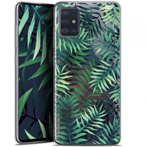 """Carcasa Gel Extra Fina Samsung Galaxy A51 (A515) (6.5"""") Design Feuilles des Tropiques"""