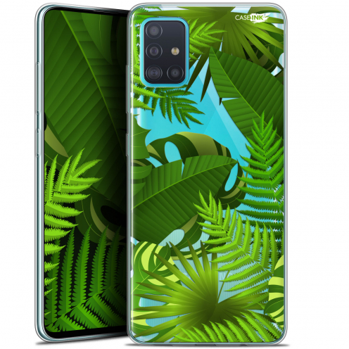 "Carcasa Gel Extra Fina Samsung Galaxy A51 (A515) (6.5"") Design Plantes des Tropiques"