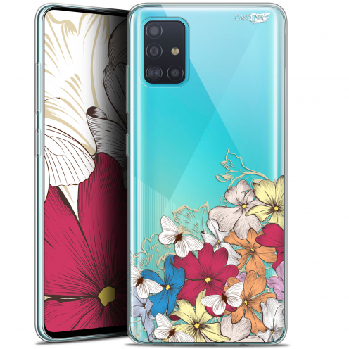 "Carcasa Gel Extra Fina Samsung Galaxy A51 (A515) (6.5"") Design Nuage Floral"