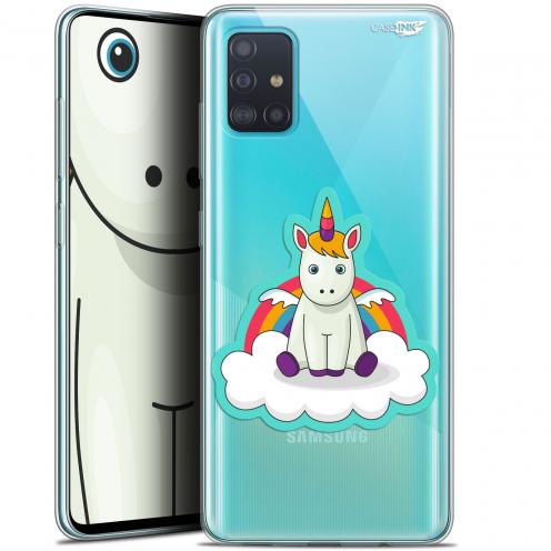 """Carcasa Gel Extra Fina Samsung Galaxy A51 (A515) (6.5"""") Design Bébé Licorne"""