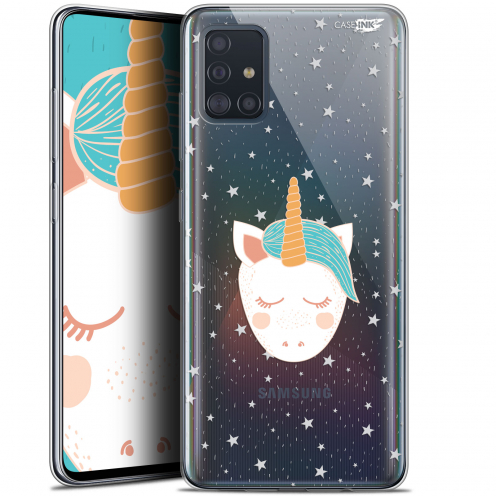 "Carcasa Gel Extra Fina Samsung Galaxy A51 (A515) (6.5"") Design Licorne Dors"