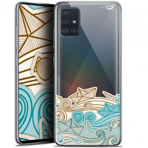 "Carcasa Gel Extra Fina Samsung Galaxy A51 (A515) (6.5"") Design Bateau de Papier"