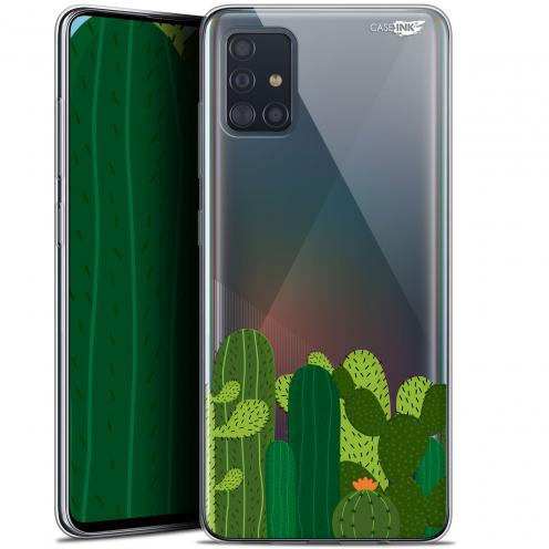 """Carcasa Gel Extra Fina Samsung Galaxy A51 (A515) (6.5"""") Design Cactus"""