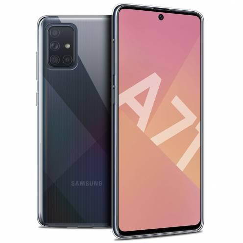 "Carcasa Extra Fina 1 mm Flexible Crystal Clear para Samsung Galaxy A71 (A715) (6.7"")"