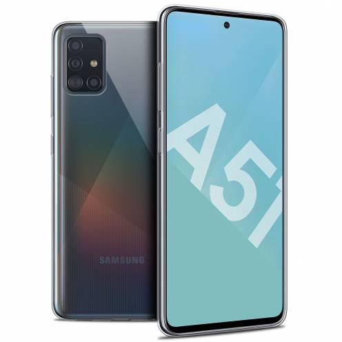 "Carcasa Extra Fina 1 mm Flexible Crystal Clear para Samsung Galaxy A51 (A515) (6.5"")"