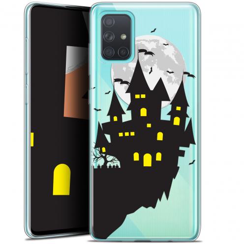 "Carcasa Gel Extra Fina Samsung Galaxy A71 (A715) (6.7"") Halloween Castle Dream"